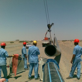 Water Project HDPE Pipeline